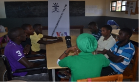 Debate at Group Scolaire Gatagara